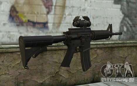 Ricks M4A1 from The Walking Dead S3 для GTA San Andreas второй скриншот