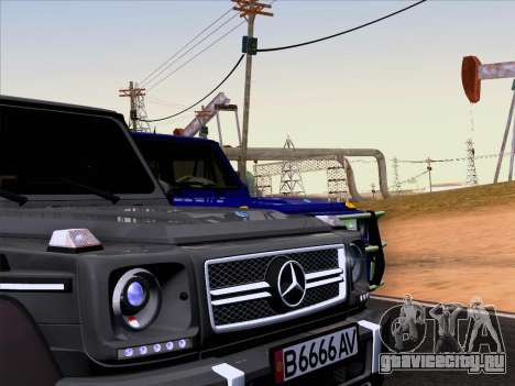Mercedes-Benz G65 AMG 6X6 для GTA San Andreas вид справа