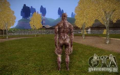 Iron Maiden from Resident Evil 4 для GTA San Andreas второй скриншот