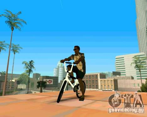 BMX из GTA Vice City Stories для GTA San Andreas вид справа
