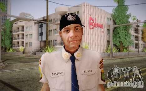 Satpam для GTA San Andreas третий скриншот