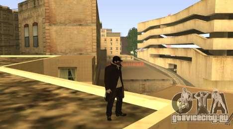 New Aiden Pearce для GTA San Andreas четвёртый скриншот