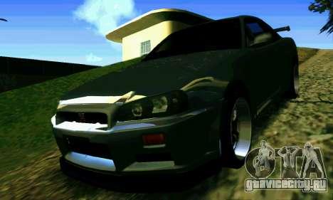 ENBSeries Rich World для GTA San Andreas седьмой скриншот
