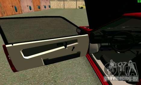 ВАЗ 2108 Turbo для GTA San Andreas вид сбоку