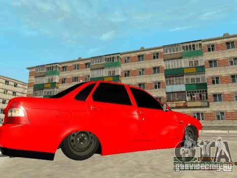 ВАЗ 2170 для GTA San Andreas вид сверху