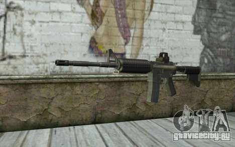 M4A1 Holosight для GTA San Andreas