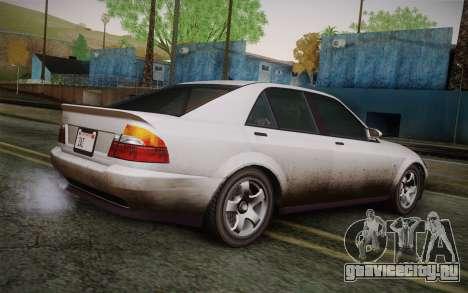 Sultan из GTA 5 для GTA San Andreas вид слева