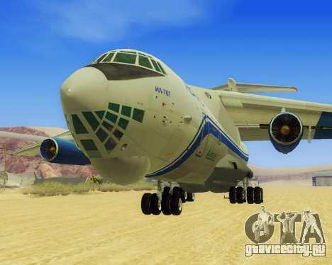 Ил-76Т АВИАСТ для GTA San Andreas вид слева