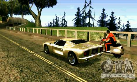 ENBSeries Rich World для GTA San Andreas шестой скриншот