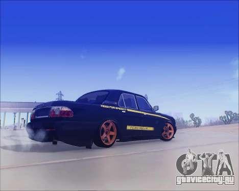 ГАЗ 31105 Tuneable для GTA San Andreas вид справа