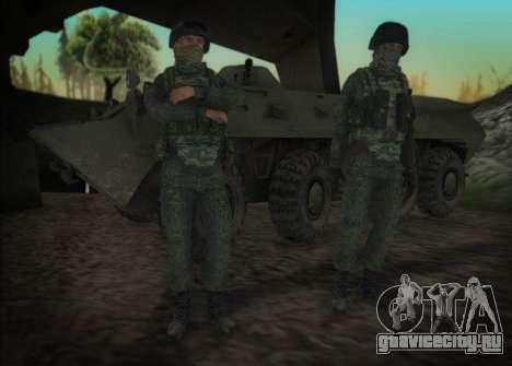 Пулеметчик спецназа ВВ МВД для GTA San Andreas третий скриншот
