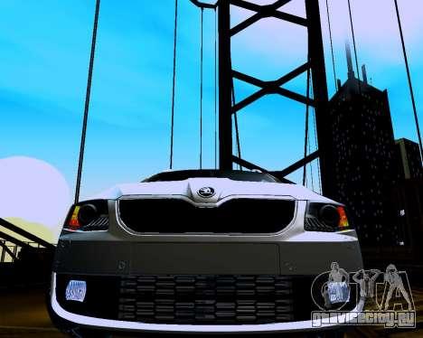 Škoda Octavia A7 Combi для GTA San Andreas вид сзади
