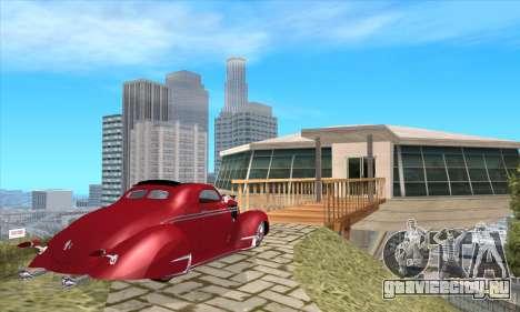 Lincoln Zephyr 1946 для GTA San Andreas вид слева