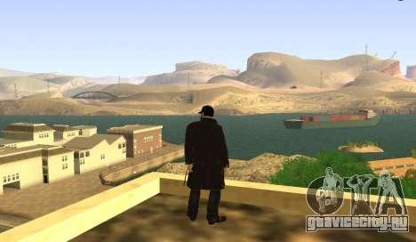 New Aiden Pearce для GTA San Andreas второй скриншот