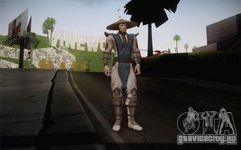 Raiden from Mortal Kombat 9 для GTA San Andreas