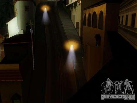 Improved Lamppost Lights v2 для GTA San Andreas третий скриншот