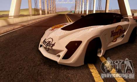 Bertone Mantide 2010 Hard Rock Cafe для GTA San Andreas