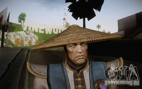 Raiden from Mortal Kombat 9 для GTA San Andreas третий скриншот