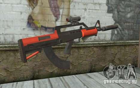 BullPup Rifle из GTA 5 для GTA San Andreas второй скриншот