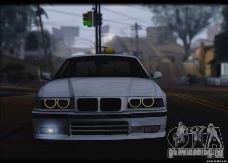 BMW M3 для GTA San Andreas вид сзади слева