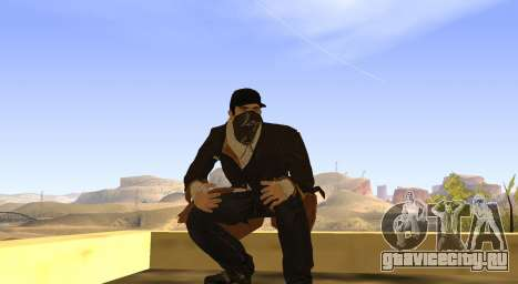 New Aiden Pearce для GTA San Andreas седьмой скриншот