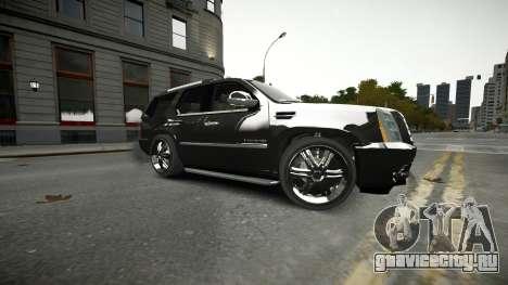 Cadillac Escalade для GTA 4 вид сверху