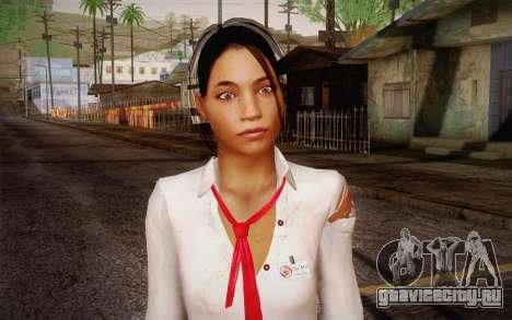 Xian Mei from Dead Island для GTA San Andreas третий скриншот