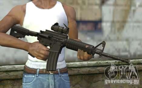 Ricks M4A1 from The Walking Dead S3 для GTA San Andreas третий скриншот