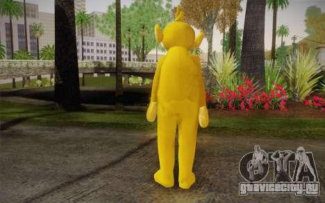 Ляля (Телепузики) для GTA San Andreas второй скриншот