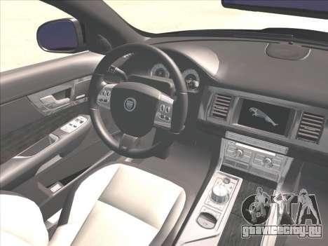 Jaguar XFR для GTA San Andreas вид сбоку