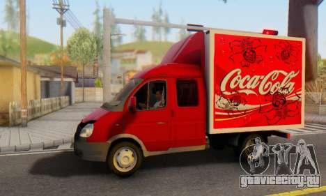 ГАЗель 33023 Coca-Cola для GTA San Andreas