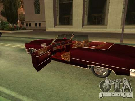Yardie Lobo from GTA 3 для GTA San Andreas вид сбоку
