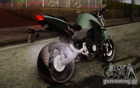 Yamaha FZ6 для GTA San Andreas вид изнутри