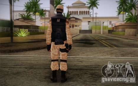 SWAT Desert Camo для GTA San Andreas второй скриншот