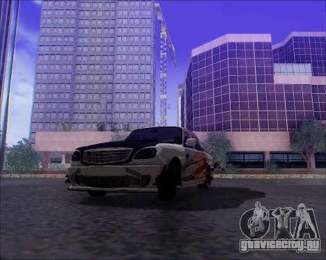 ГАЗ 31105 Tuneable для GTA San Andreas двигатель