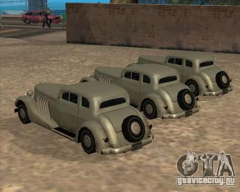 Новый Автомобиль (Hustler) для GTA San Andreas вид сзади