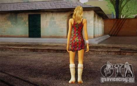 Hannah Montana для GTA San Andreas второй скриншот