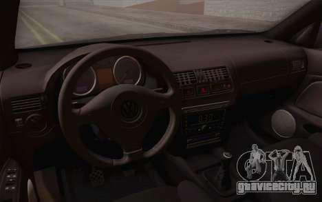 Volkswagen Bora для GTA San Andreas вид сверху