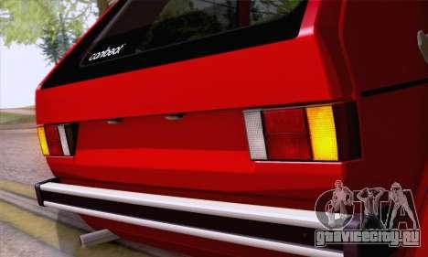 Volkswagen Golf Mk I 1978 для GTA San Andreas