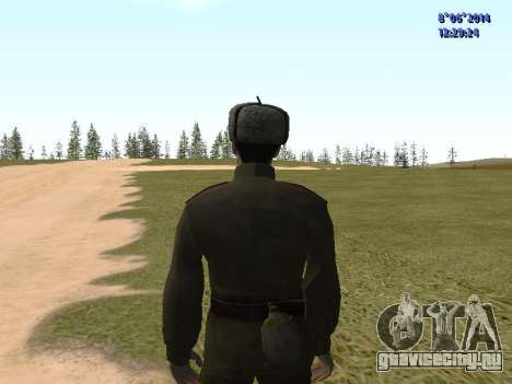USSR Soldier Pack для GTA San Andreas шестой скриншот