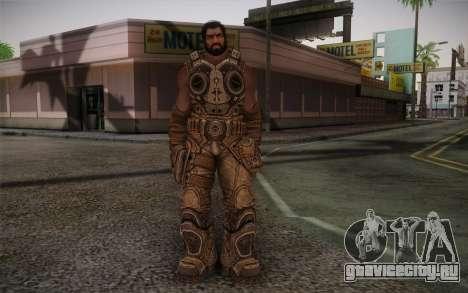 Dom From Gears of War 3 для GTA San Andreas