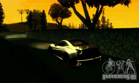 ENBSeries Rich World для GTA San Andreas второй скриншот