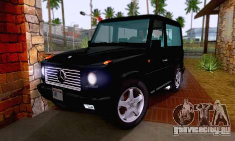 Mercedes-Benz G500 1999 Short для GTA San Andreas