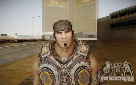 Marcus Fenix из Gears of War 3 для GTA San Andreas третий скриншот