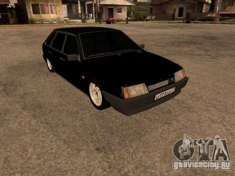 ВАЗ 2109 Бандитская девятка V 1.0 для GTA San Andreas вид сзади слева