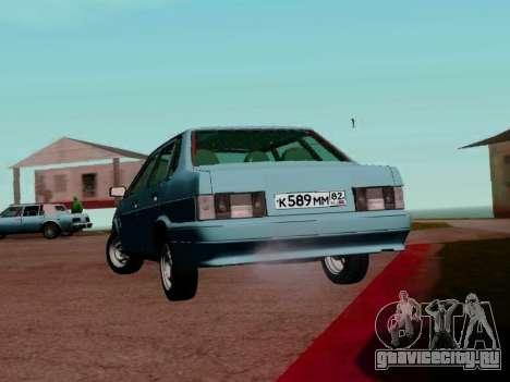 ВАЗ-21099 для GTA San Andreas вид справа