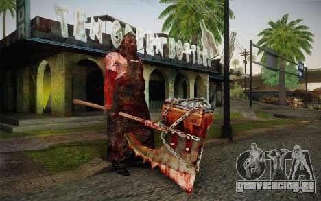 Палач (Resident Evil 5) для GTA San Andreas