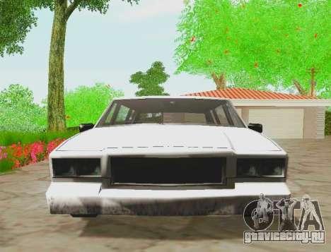 Tahoma Limousine для GTA San Andreas вид справа