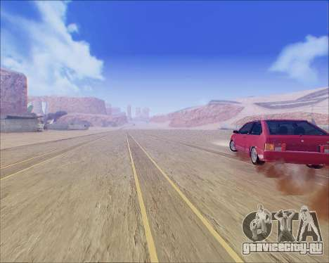 ВАЗ 2112 Tuneable для GTA San Andreas вид сзади слева