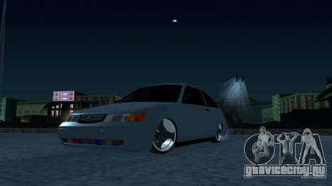 ВАЗ 2112 БПАН для GTA San Andreas вид сзади слева